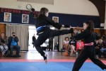 7 Girls Sparring
